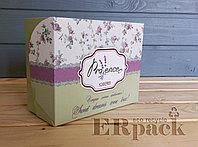 Коробки для пирожных, выпечки, печенья и пряников. 180*140*60 мм.
