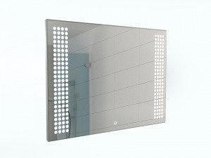 Зеркало Cosmo 80 alum с подсветкой Sansa, фото 2