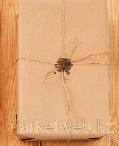 Бумага упаковочная крафт без печати, 70 г/м2, 0,72 х 10 м - фото 5
