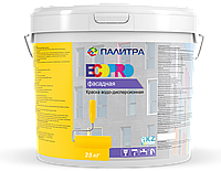 """Краска водоэмульсионная фасадная """"ПАЛИТРА"""" 25 кг"""