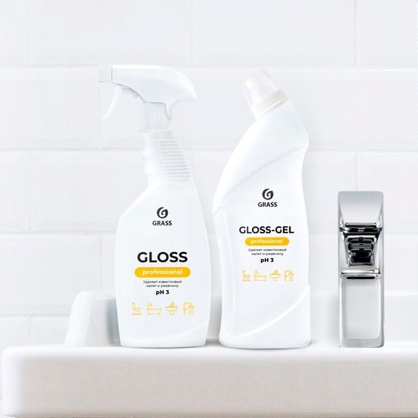 Чистящее средство для санузлов  Gloss-Gel Professional