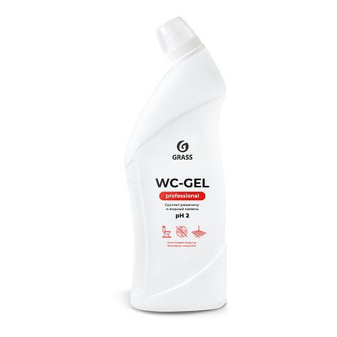 Чистящее средство для санузлов WC-gel Professional, фото 2