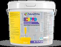 """Краска водоэмульсионная фасадная """"ПАЛИТРА"""" 25 кг (для наружных работ)"""