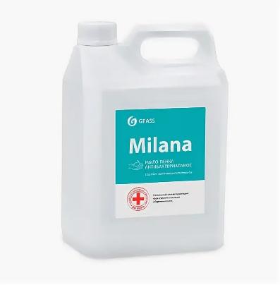 Жидкое мыло  Milana мыло-пенка Антибактериальное, фото 2