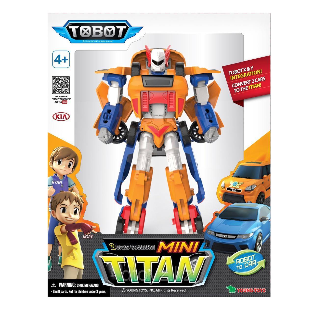 Трансформер Tobot Мини Титан 301055