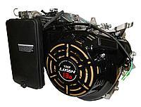 Двигатель для генератора LIFAN 190FD-V (15 л.с., вал конусный, эл. стартер, без бака)