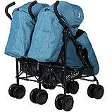 Прогулочная коляска для двойни Indigo Duet, фото 3