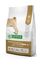 Сухой корм для собак всех пород склонных к полноте или стерилизованных Nature's Protection Weight Control