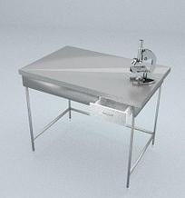 Стол приборный, 1 ящик, ц/м, 900х600х900 мм