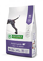 Сухой корм для собак всех пород Nature's Protection Adult Lamb (ягненок)