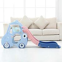 Детская горка машинка XDD622 синий, фото 1
