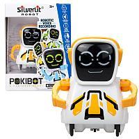 Робот Покибот, белый с желтым, квадратный (Silverlit, США)
