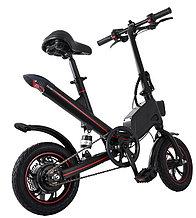 Электровелосипед, мотор 36v 250w, аккум. Li-ion 36v 7,8 A/H. Дальность 25-30 км. Вес 21 кг. Колеса 12''