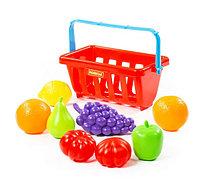 Набор продуктов с корзинкой №2 (9 элементов) (в сеточке), фото 1