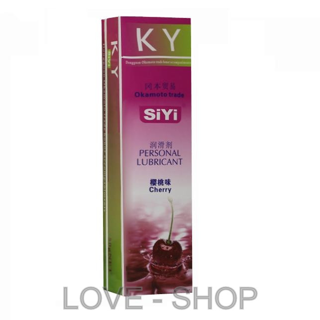SiYi - Оральная смазка с вкусом вишенки (50 ml.)