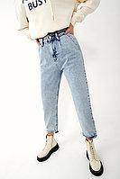 Укороченные джинсы из 100% хлопка с высокой посадкой TOPTOP