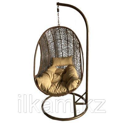 Подвесное кресло-кокон  из ротанга, фото 2