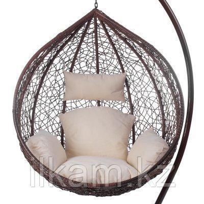 Кресло  кокон маленькое из ротанга, фото 2