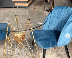 Стул креслице синий