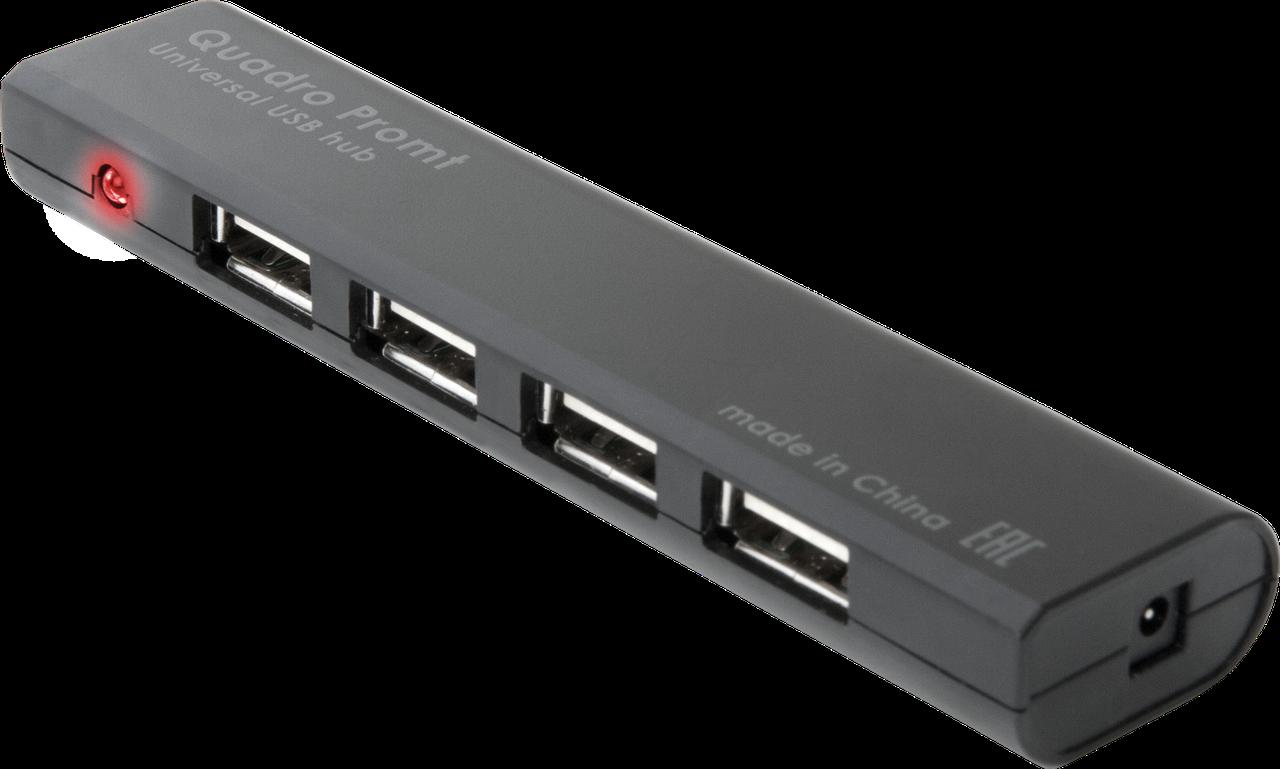 Разветвитель Defender Promt USB 2.0 (4 порта HUB)