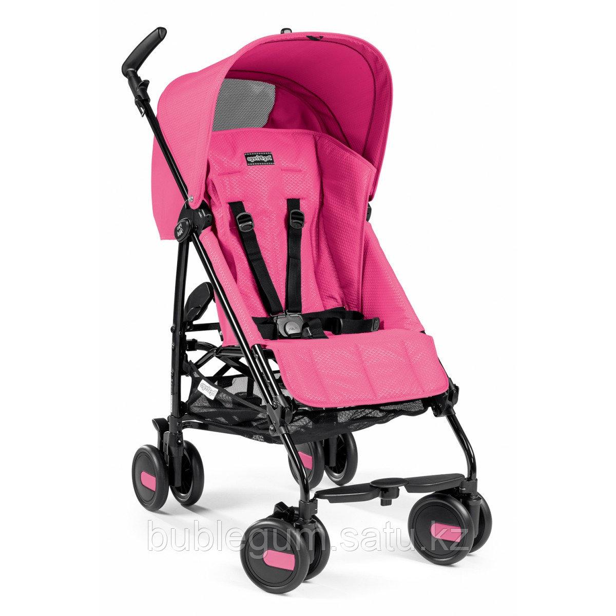 PEG PEREGO Коляска PLIKO MINI Lightweight stroller with hood MOD PINK