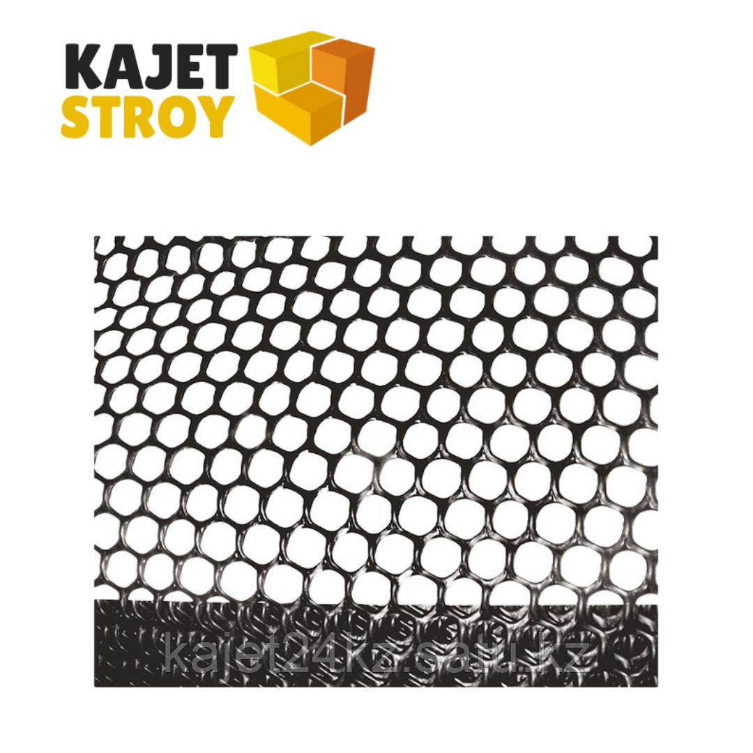Сетка газонная в рулоне, 2х30 м, ячейка 9х9 мм, черная// Россия