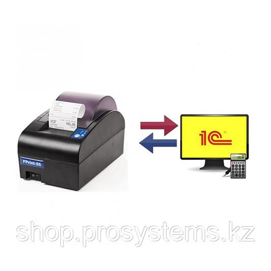 Подключение и настройка фискального регистратора/принтера чеков и денежного ящика с эл. замком