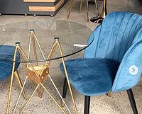 Стол стекло в стиле хайтек