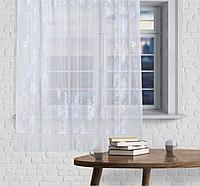 Штора без шторной ленты, 170 х 145 см, цвет белый