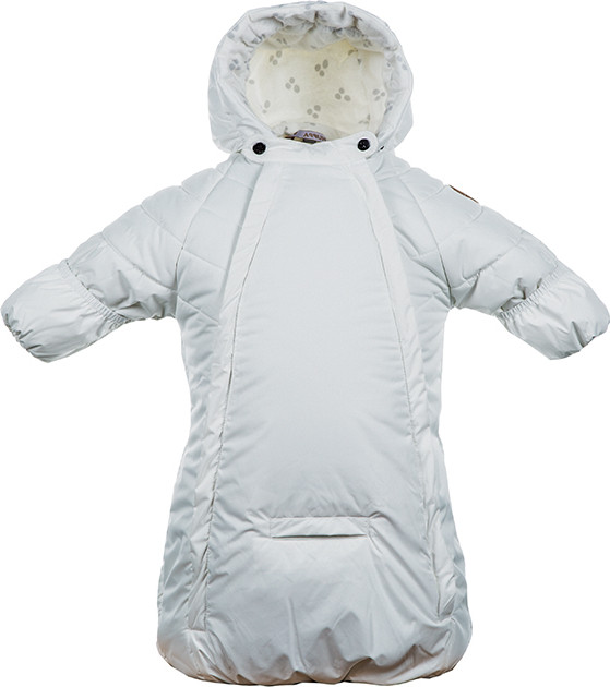 Конверт-спальный мешок для малышей ZIPPY, белый