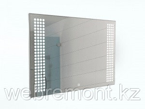 Зеркало Cosmo 100 alum с подсветкой Sansa, фото 2