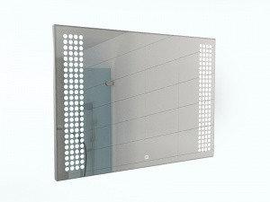 Зеркало Cosmo 120 alum с подсветкой Sansa, фото 2