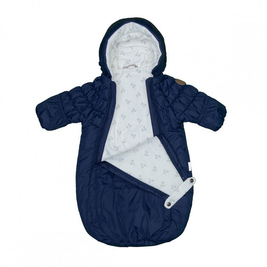 Конверт-спальный мешок для малышей ZIPPY, синий