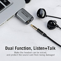 USB - звуковая карта VENTION, фото 1