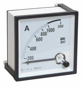Амперметр Э47 400/5А кл. точн. 1,5 96х96мм
