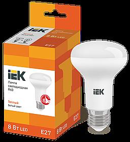 Лампа светодиодная LED R63 рефлектор 8Вт 230В 3000К E27 ИЭК