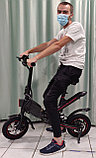 Электровелосипед, мотор 36v 250w, аккум. Li-ion 36v 7,8 A/H. Дальность 25-30 км. Вес 21 кг. Колеса 12'', фото 3