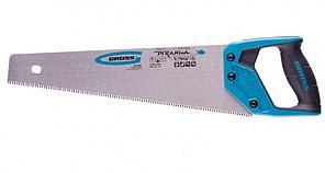 Ножовка GROSS 24110 по дереву Piranha 400мм 11-12 TPI каленый зуб-3d 2-х комп. рук-ка