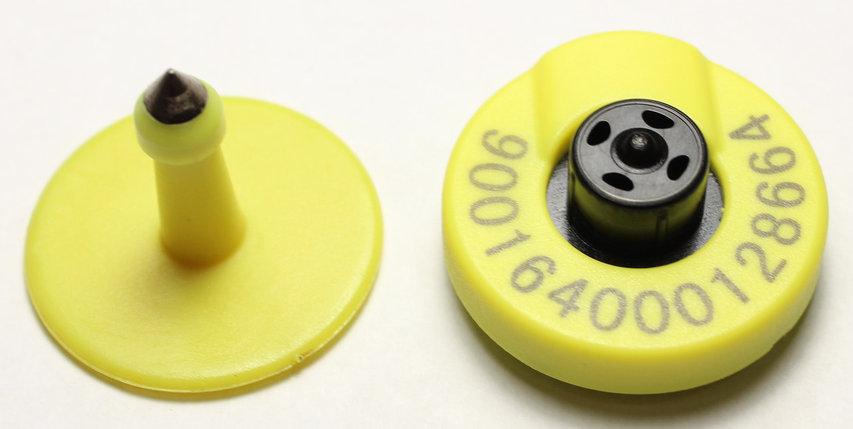 Бирка радиочастотная  Бирка с чипом, фото 2