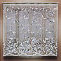 Штора 165х160 см, белый, без шторной ленты