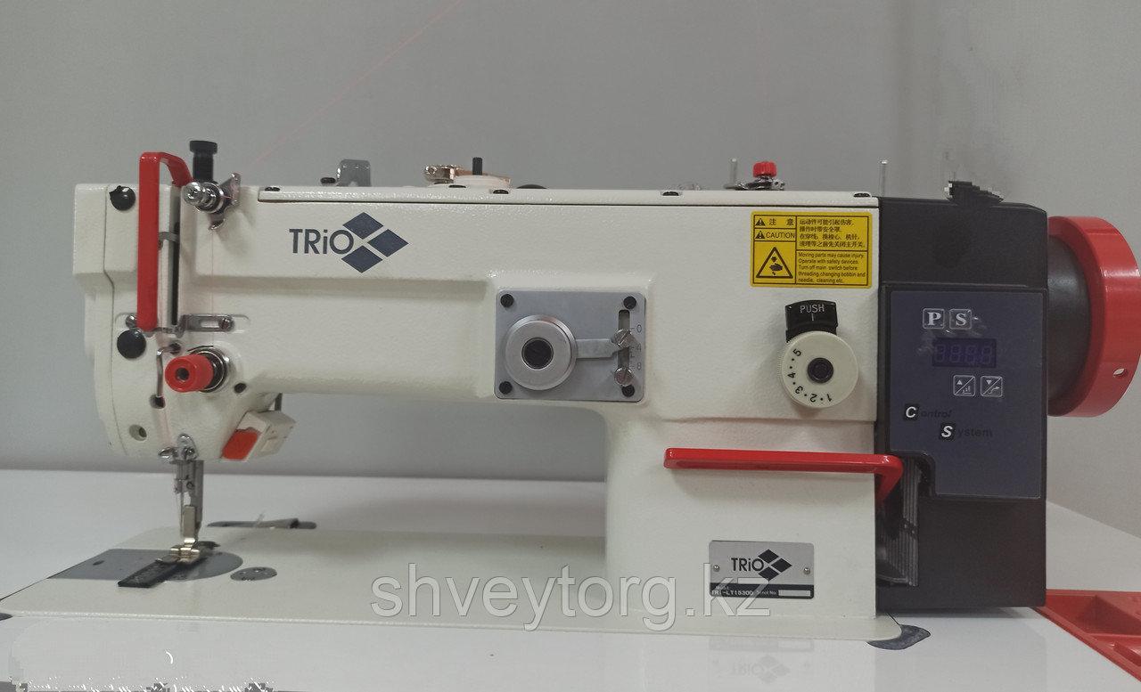 Промышленная одноигольная швейная машина строчки ЗИГЗАГ TRIO TRI-LT1530D