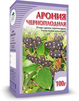 Арония, черноплодная рябина, 50 г (Лекра)