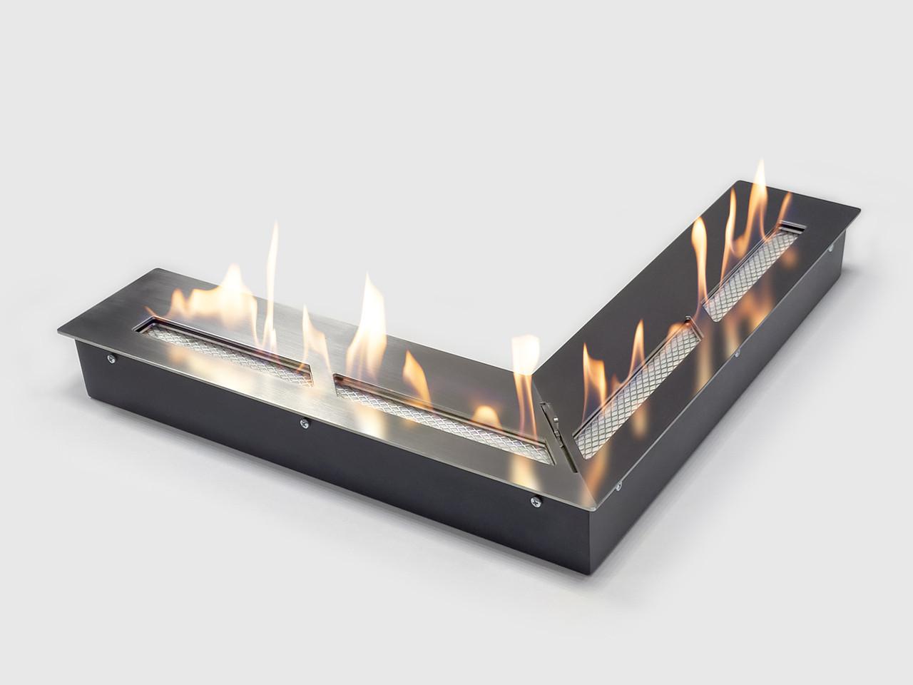 Топливный блок угловой LUX FIRE 500х500 М