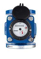 Счетчик воды Ду-100 ZENNER тип WI, ирригационный счетчик Woltman для загрязнённой воды