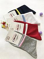 Носки женские хлопок средняя длина LIMAX 36-40 (в упаковке 12 шт)