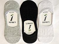 Носки-следики женские хлопок LIMAX 36-40 (в упаковке 12 шт)
