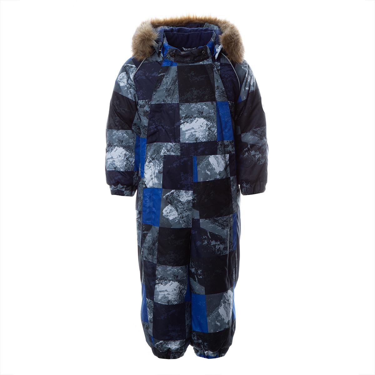 Детский комбинезон KEIRA, синий с принтом - фото 1