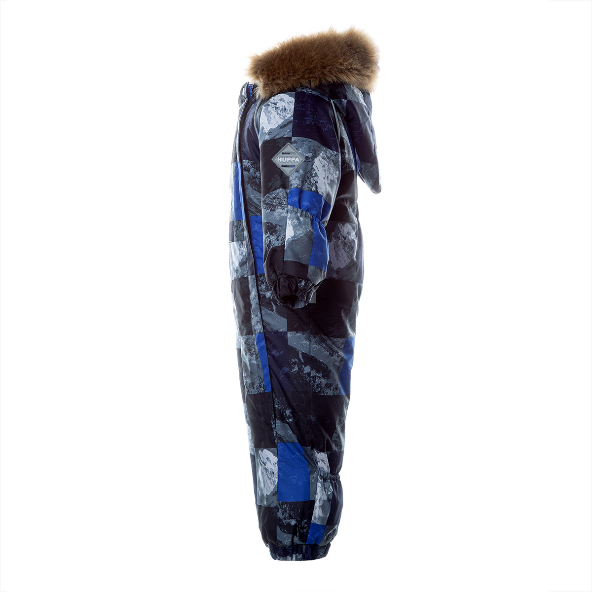 Детский комбинезон KEIRA, синий с принтом - фото 3