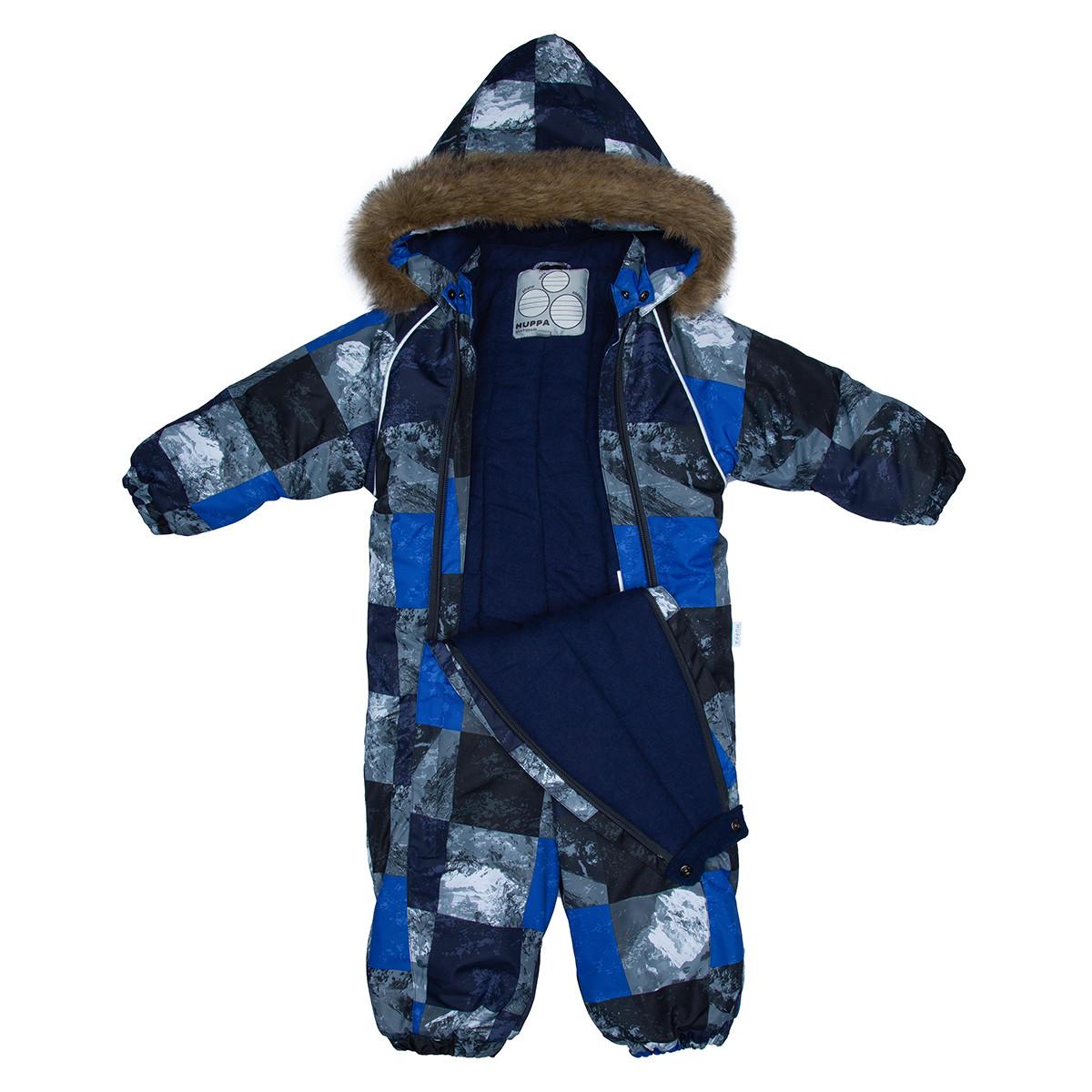 Детский комбинезон KEIRA, синий с принтом - фото 4