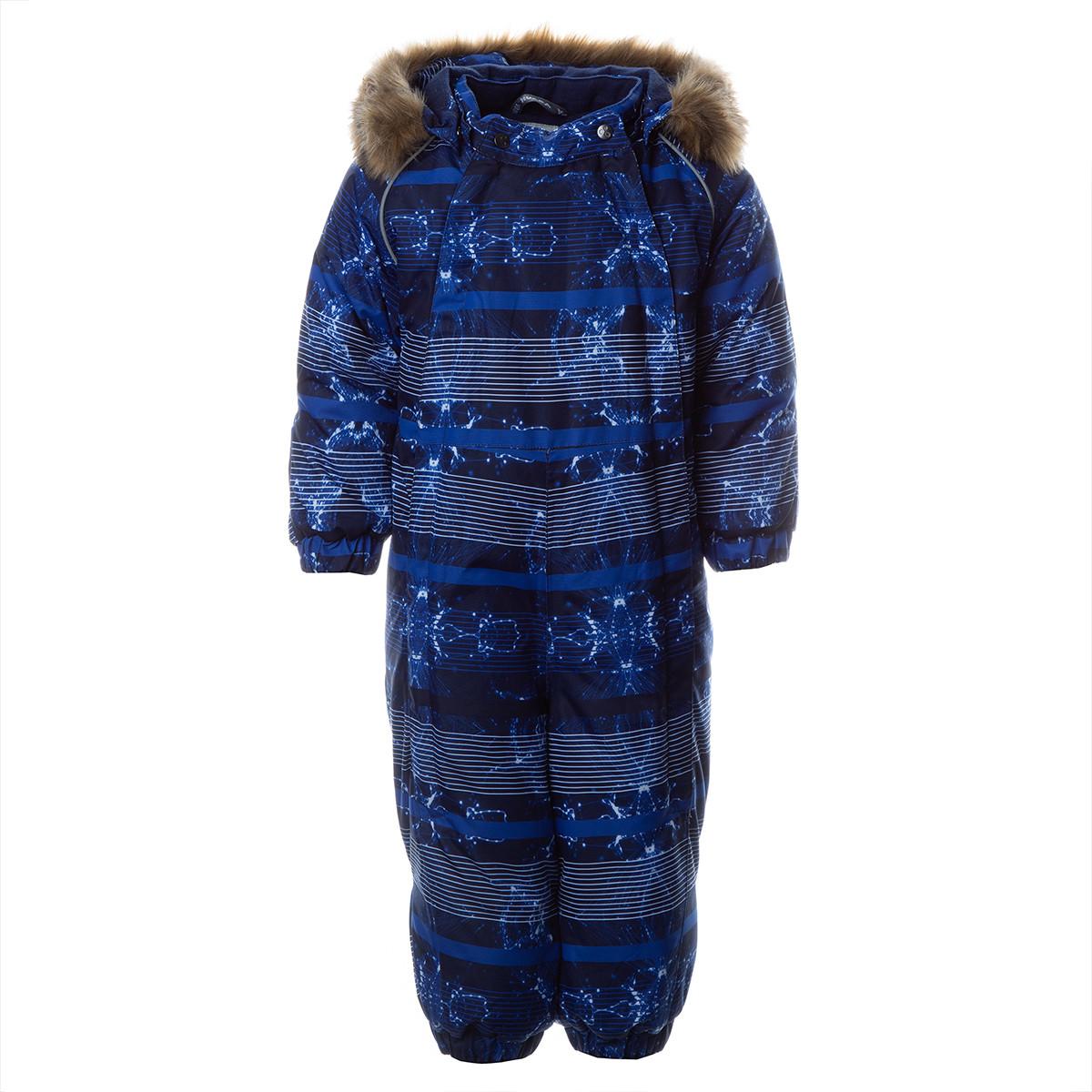 Детский комбинезон KEIRA, синий с принтом